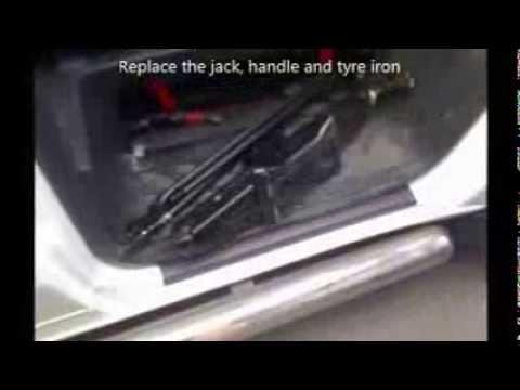 Change Transit Tyre Youtube