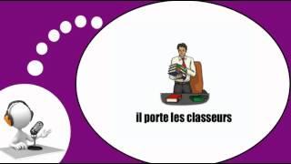 Французского видео урок = Сцены и ситуации в офисе № 2(PARRAINEZ-MOI SI VOUS APPRÉCIEZ MON TRAVAIL / http://www.imagiers.net/support-me/ Изучение французского языка с мотивированным, ..., 2013-10-11T05:52:47.000Z)