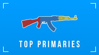 PAYDAY 2: Top Primary Weapons