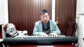 作曲家 桑原 巌「ホルチン草原の女神」を歌う