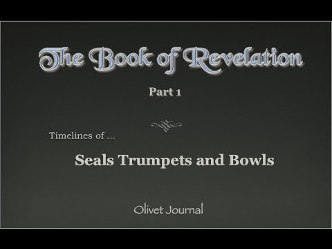a dissertation on the seals and trumpets of the apocalypse Revelation: the seals, the trumpets, the woes, and the bowls 3rd woe 2nd woe 1st woe 3 woes 7th seal 6th seal 5th seal 3rd seal 4th seal 2nd seal 1st seal 7 seals 7 trumpets 7th trumpet 4th trumpet 5th trumpet 6th trumpet 3rd trumpet 2nd trumpet 1st trumpet title: seals_trumpets_woes_and_bowls.