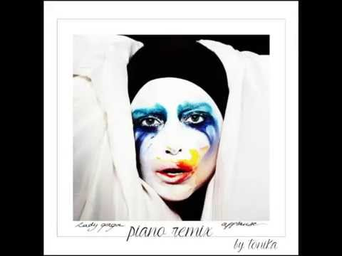 """Lady Gaga - """"Applause"""" (Instrumental Piano Cover)"""