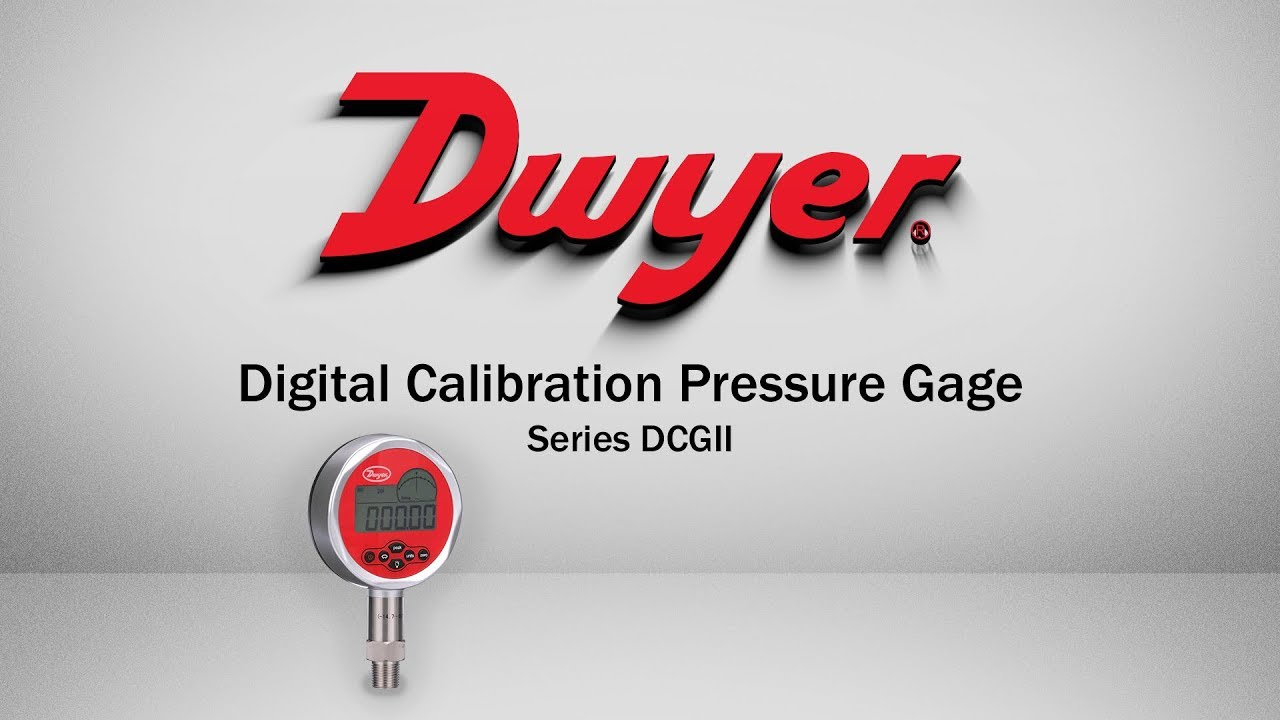 Digital Calibration Pressure Gage | Series DCGII