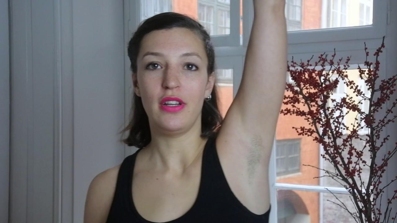 Kropsbehåring: Er hår under armene klamt eller cool? - YouTube