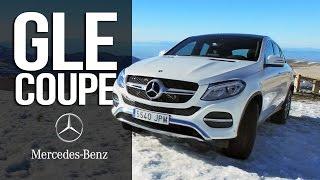 Mercedes GLE coupe - тест драйв|| Красавец Mercedes GLE coupe на горнолыжном курорте|| AVTOritet