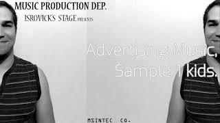 Advertising music sample kids 1