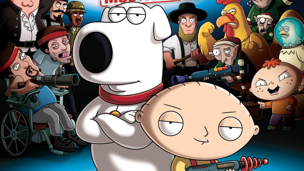 Family guy: back to the multiverse shots show special character.