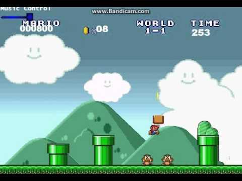 Klasik Mario Oyununun Tanıtım Videosu