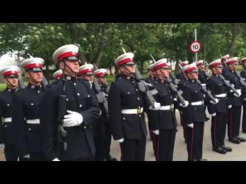 AMAZING Royal Marine Commando Proposes To Girlfriend