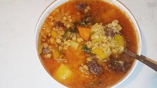 Гороховый Суп очень вкусный и простое рецепт
