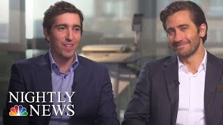 Boston Strong  Jeff Bauman's Incredible Story | NBC Nightly News