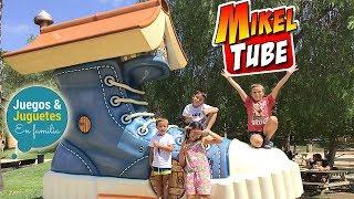 Vlog visita a Mikeltube con los Familukis