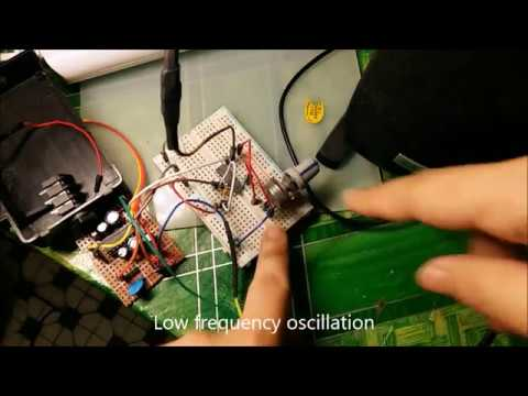 Simple VCO Voltage Control Oscillator   Frequency Synthesizer