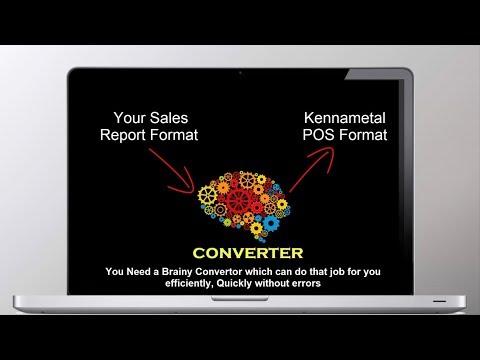 AUTO KMT POS TOOL for Kennametal Distributors