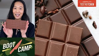 Playing with Chocolate–Cocoa Powder, Tempering, and More | Test Kitchen Boot Camp