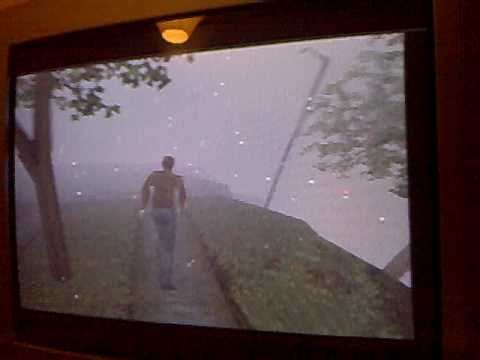 Silent Hill - armed 180 turn glitch (2)