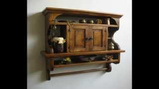 Rustic Kitchens Shelves: Kitchen Cabinet Art.e103