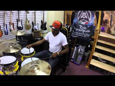 RotodruM visits Ted's Musicians Shop Baltimore