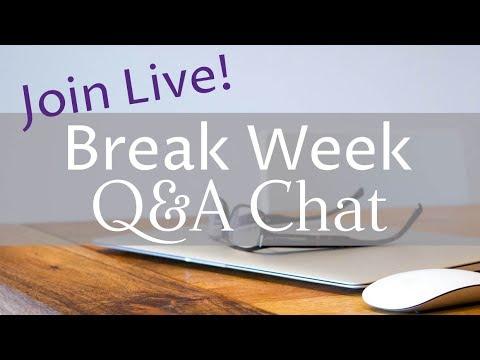 Break Week FAQ - for homeschooling & interval planning