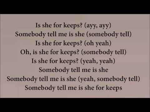 Quavo ft nicki Minaj - She For keeps (lyrics on screen)