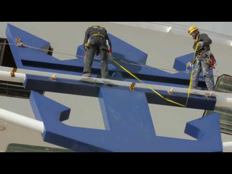 """Royal Caribbean Launches """"Harmony Of The Seas"""" World's Largest Cruise Ship (Video)"""
