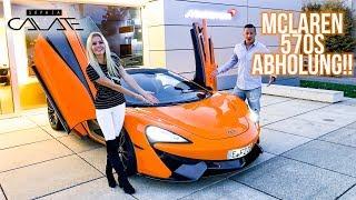 Sein NEUES AUTO! McLaren 570s ABHOLUNG!
