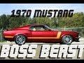 BOSS BEAST - 1970 Mustang Pro Touring Boss Clone - 347 Stroker Build