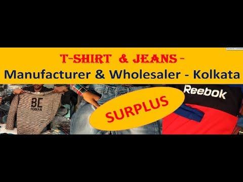 T-Shirt & Jeans - Manufacturer & Wholesaler - Kolkata
