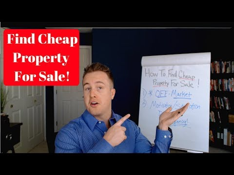 How To Find Cheap Property For Sale | Finding A Good Deal – Real Estate Investing Made Simple