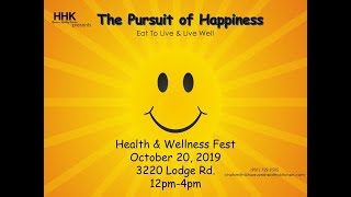 The Health Event 6| The Pursuit of Happiness Health & Wellness Fest