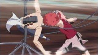 Sakura and Chiyo vs Sasori