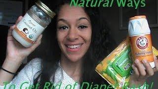 Natural Ways Get Rid Diaper Rash
