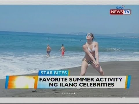 BT: Favorite summer activity ng ilang celebrities