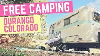 Free Camping in Durango, Colorado ⛺🇺🇸 Full Time RV Living & Cheap RV Life 🌌🌄 Colorado Camping