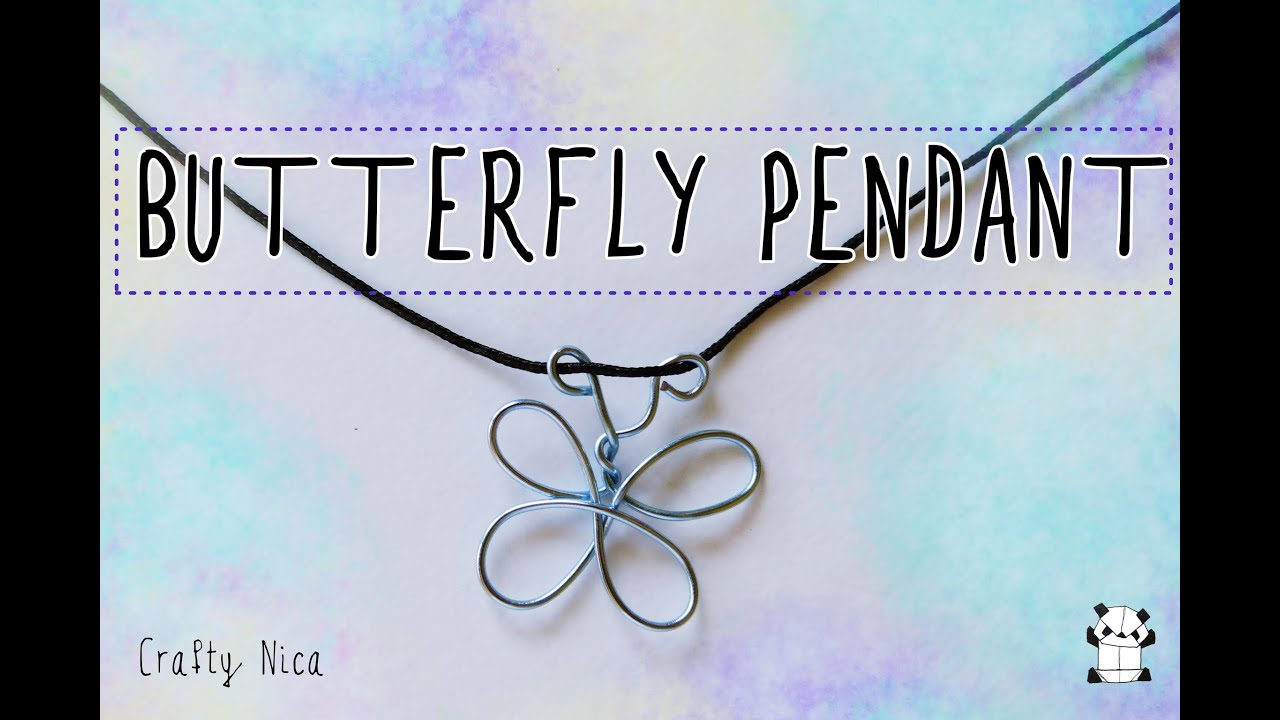 How to make a butterfly pendant (Making costume jewelry| DIY|Crafts)  sc 1 st  YouTube : handmade costume jewelry  - Germanpascual.Com