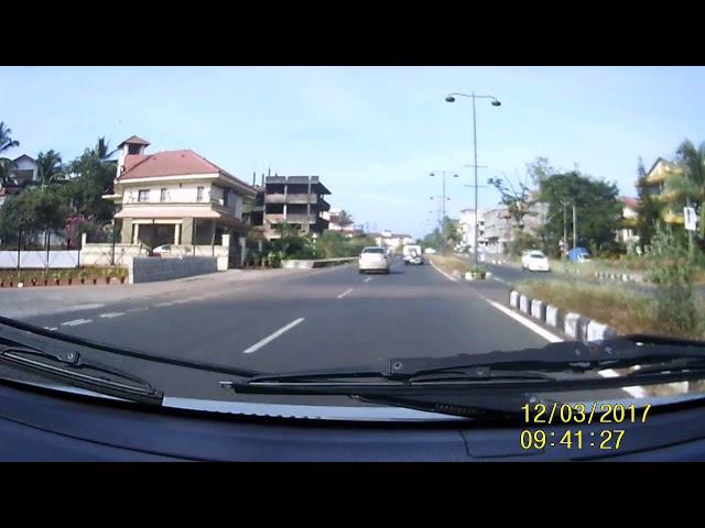 Roads in Goa: Bambolim - Dona Paula - Miramar - Panjim