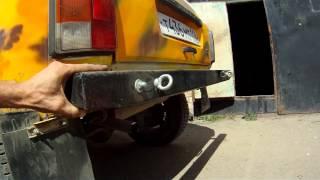 видео Силовой бампер из швеллера на ниву