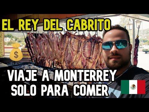 VIAJE a MONTERREY solo PARA COMER CABRITO $2500 💰🇲🇽