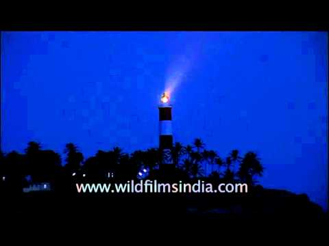Tangasseri lighthouse in Kollam, Kerala