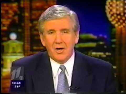 KTVT CBS 11 News at 10:00 Close (2/3/2000)
