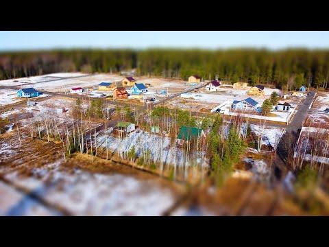 Центральное Раздолье, Весна 2020. Участки с коммуникациями в коттеджном поселке Спб.