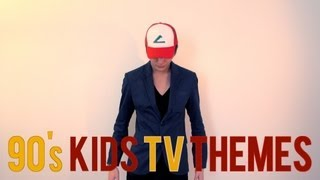 Repeat youtube video The Childhood Theme Song Medley (90's Kids TV Show Themes)