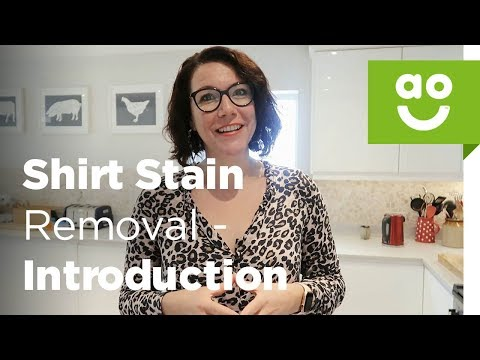 How to Remove Stains from Clothes - Introduction | ao.com