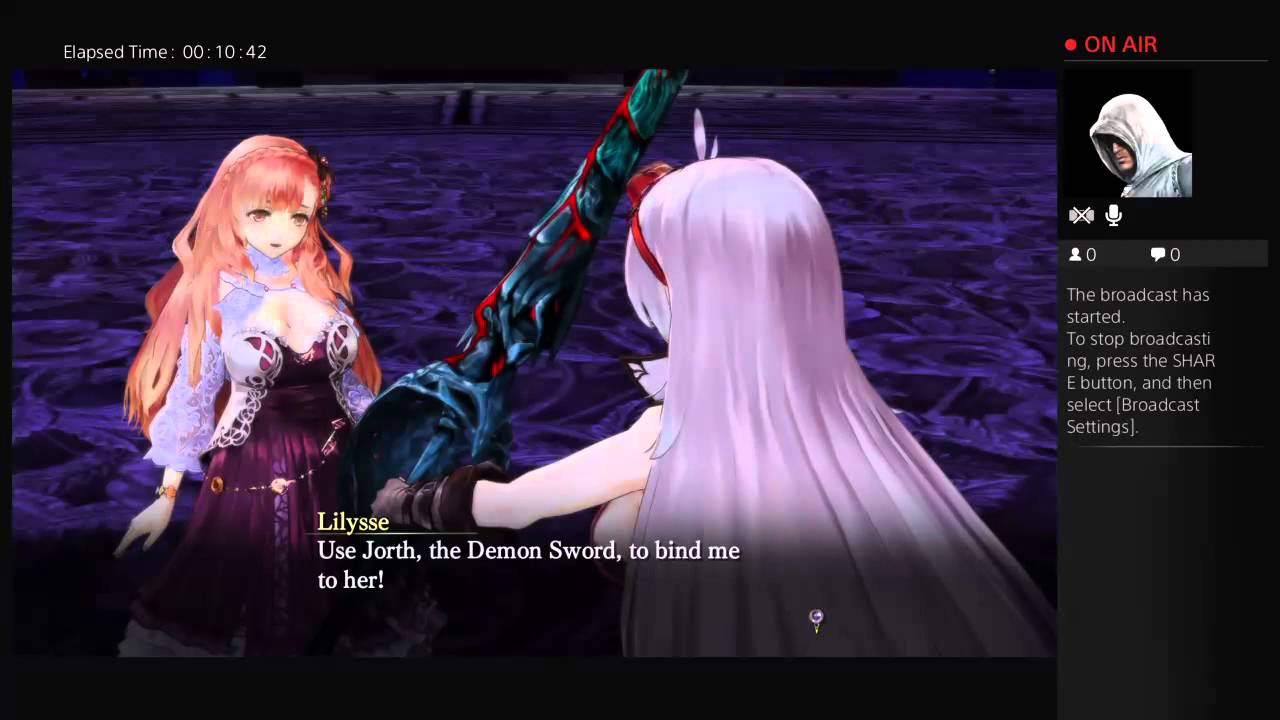 Nights of Azure (Final Boss) Normal Ending 1 and some Nightmare ...