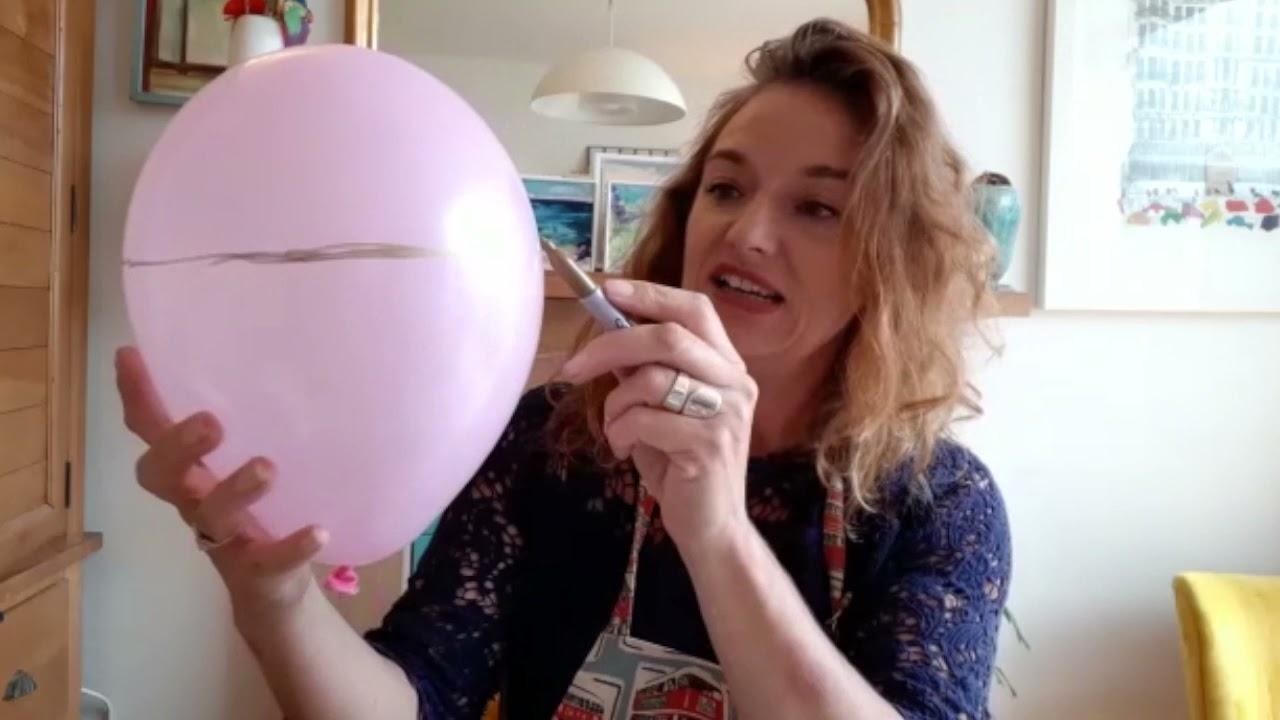 Download Stage 1: Create your bowl | Vicki's spooktacular papier-mâché bowl