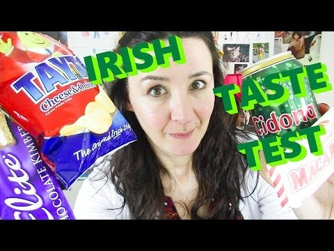 Irish Food Taste Test