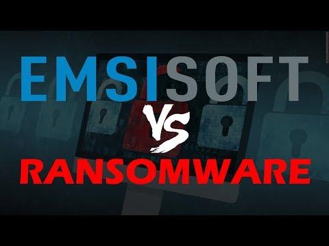 Emsisoft vs Ransomware