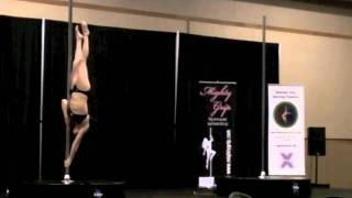 Great Mid West Pole Dance Competition 2011 ~Andrea Lui/Elite Division Winner