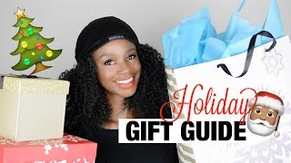 The ultimate NATURAL HAIR GROWTH holiday gift guide!
