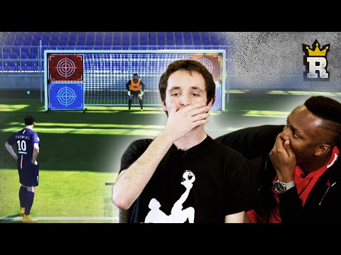 Thumbnail: KSI's PES Penalty Challenge (Global Freestylers) | Rule'm sports